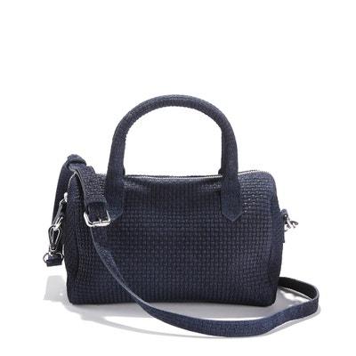 Suede Handbag La Redoute Collections