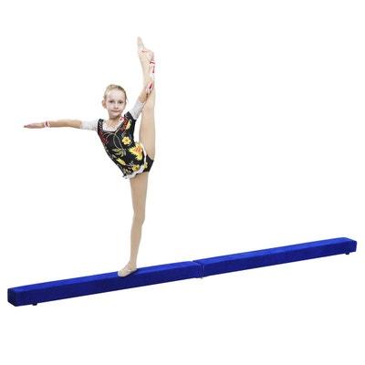 Poutre de gymnastique pliable 2,1 m Poutre de gymnastique pliable 2,1 m HOMCOM