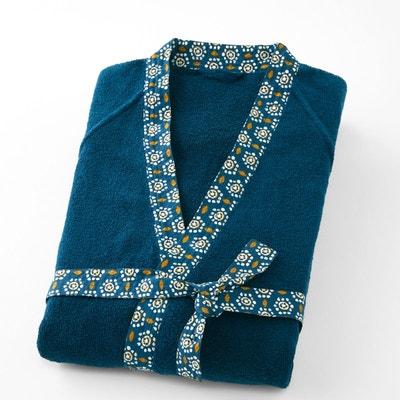 Peignoir kimono éponge liteau fantaisie ORIANE Peignoir kimono éponge liteau fantaisie ORIANE LA REDOUTE INTERIEURS