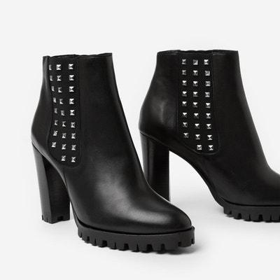 Boots à talon cuir Boots à talon cuir THE KOOPLES