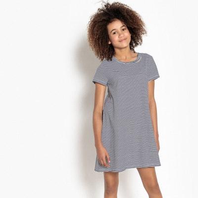 Abito t-shirt a righe 10-16 anni Abito t-shirt a righe 10-16 anni La Redoute Collections