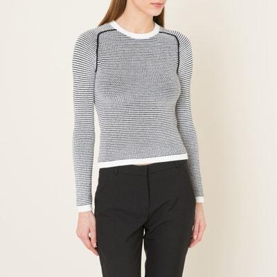Zweifarbiger Pullover Zweifarbiger Pullover CARVEN