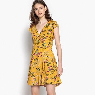 Платье короткое расклешенное с цветочным рисунком Платье короткое расклешенное с цветочным рисунком BEST MOUNTAIN
