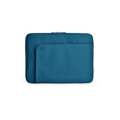 Housse ESSENTIELB Pocket 13-14'' coton bleu Housse ESSENTIELB Pocket 13-14'' coton bleu ESSENTIEL B