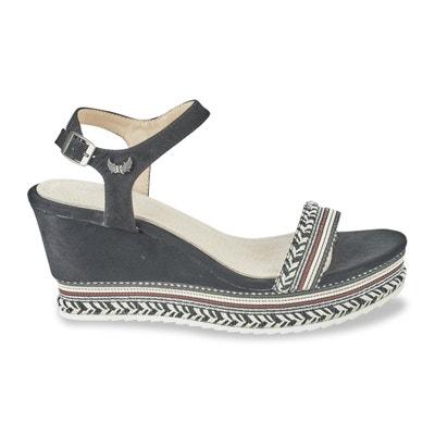 Sandales talon compensé Slyde KAPORAL 5