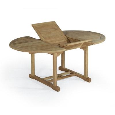 Table extensible ronde en teck Ecograde Roma Table extensible ronde en teck  Ecograde Roma TECK ATTITUDE d118892d2499