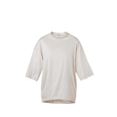 Top manches courtes en maille de coton pour femme style jersey SUNDAY LIFE f46e84056137