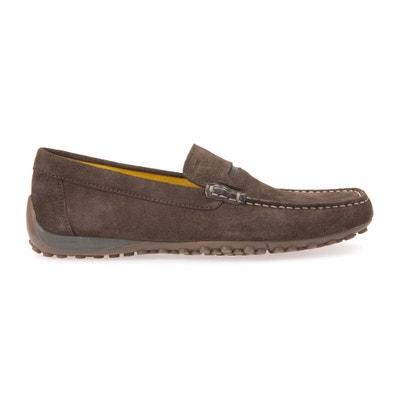 U Snake Moc A Leather Loafers GEOX