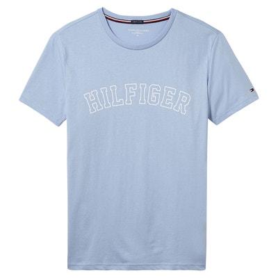 T-shirt met korte mouwen, zuiver katoen. T-shirt met korte mouwen, zuiver katoen. TOMMY HILFIGER