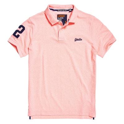 Short-Sleeved Polo Shirt Short-Sleeved Polo Shirt SUPERDRY