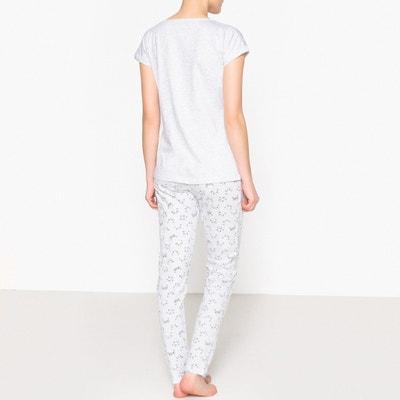 Bedruckter Pyjama, Motiv Katze, Baumwolle La Redoute Collections