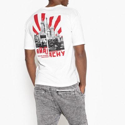 Tee shirt à message, dos imprimé Tee shirt à message, dos imprimé La Redoute Collections
