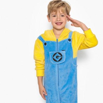 Mono pijama con capucha, 4-10 años Mono pijama con capucha, 4-10 años LES MINIONS
