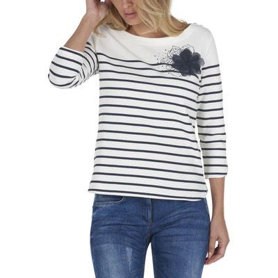 Sweat-shirt à rayures Sweat-shirt à rayures BETTY BARCLAY 573910c9991d