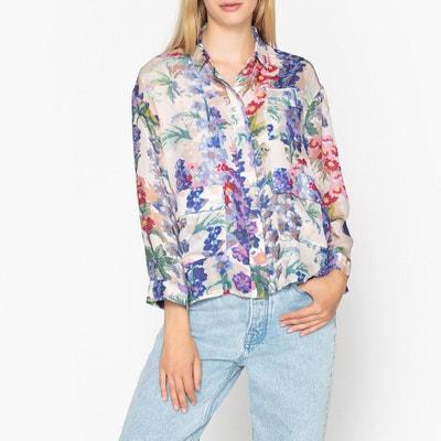 Long-Sleeved Printed Shirt Long-Sleeved Printed Shirt SAMSOE AND SAMSOE