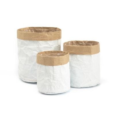 Piala 3 Paper Storage Bags Piala 3 Paper Storage Bags La Redoute Interieurs