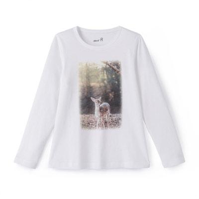 T-shirt biche 3-12 ans T-shirt biche 3-12 ans La Redoute Collections