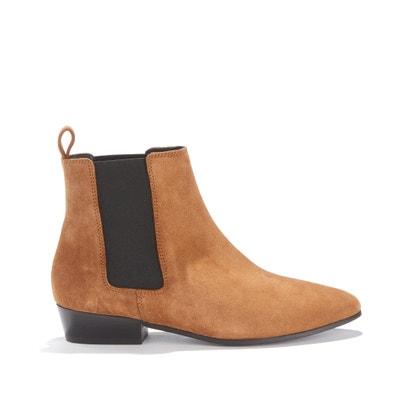Boots in kalfsleer met gematigde hak Boots in kalfsleer met gematigde hak RIVECOUR