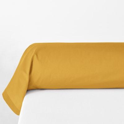 Federa per cuscino cilindrico in percalle di cotone biologico Federa per cuscino cilindrico in percalle di cotone biologico La Redoute Interieurs