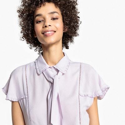 Combinaison courte col chemise manches courtes Combinaison courte col chemise manches courtes MADEMOISELLE R