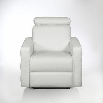 Fauteuil de relaxation cuir, Hyriel Fauteuil de relaxation cuir, Hyriel La Redoute Interieurs