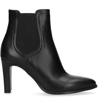 Chelsea boots en cuir à talon Chelsea boots en cuir à talon SACHA 13aa0b7fee47