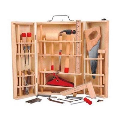 Malette à outils en bois - WDK Noël WDK GROUPE PARTNER