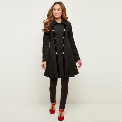 Mantel mit grossem Kragen und Knopfverschluss Mantel mit grossem Kragen und Knopfverschluss JOE BROWNS