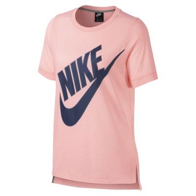 Sportswear Short-Sleeved Crew Neck Logo T-Shirt Sportswear Short-Sleeved Crew Neck Logo T-Shirt NIKE