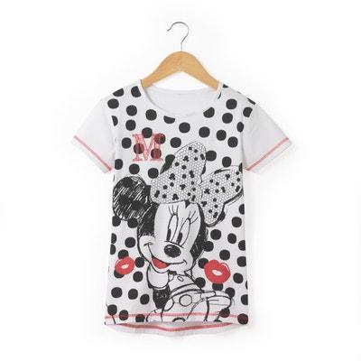 Polka Dot Print T-Shirt, 8-16 Years MINNIE MOUSE