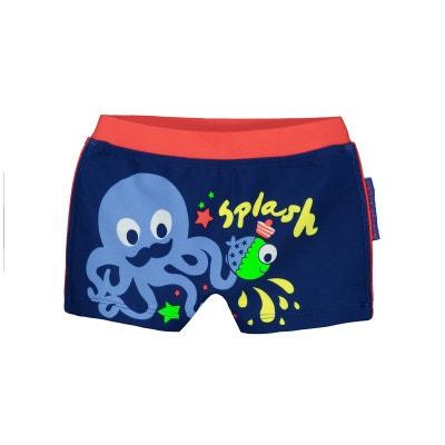 Boxer de bain bébé garçon bleu Splash Boxer de bain bébé garçon bleu Splash PETIT BEGUIN