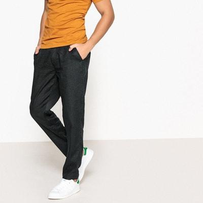 Pantalon en lin raccourci LA REDOUTE COLLECTIONS 6d16dcd0e9a8