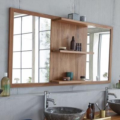 Miroir encadrement bois en solde | La Redoute