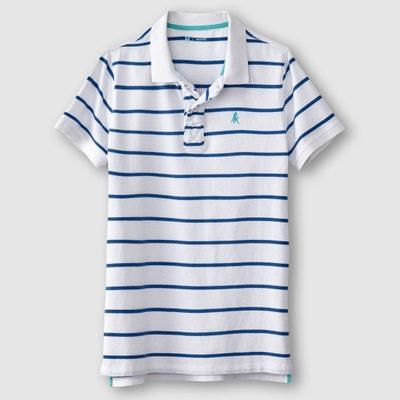 Striped Polo Shirt Striped Polo Shirt La Redoute Collections