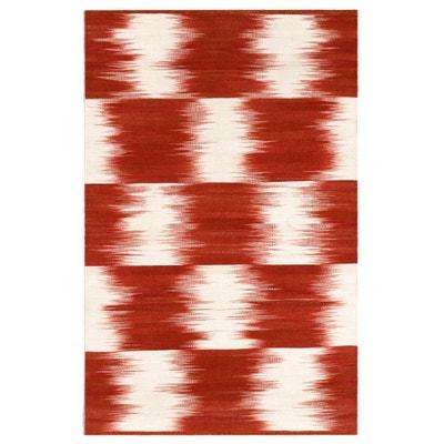 Tapis tissé à plat motif Ikat en laine, Vitto Tapis tissé à plat motif Ikat en laine, Vitto AM.PM.
