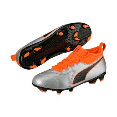 9788011135261 Chaussures football Puma One 3 FG Gris Orange Chaussures football Puma One  3 FG Gris