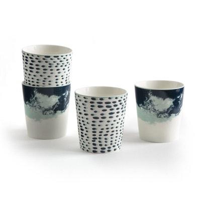 Lot 4 mugs, ECUME Lot 4 mugs, ECUME LA REDOUTE INTERIEURS