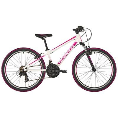 "Rockville - Vélo enfant - 24"" rose/blanc Rockville - Vélo enfant - 24"" rose/blanc SERIOUS"