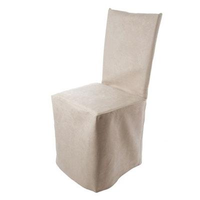 housse de chaise beige la redoute. Black Bedroom Furniture Sets. Home Design Ideas