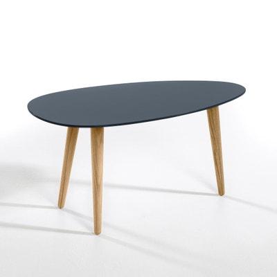Tavolo basso laccato e hévéa L70 cm, Flashback Tavolo basso laccato e hévéa L70 cm, Flashback AM.PM.