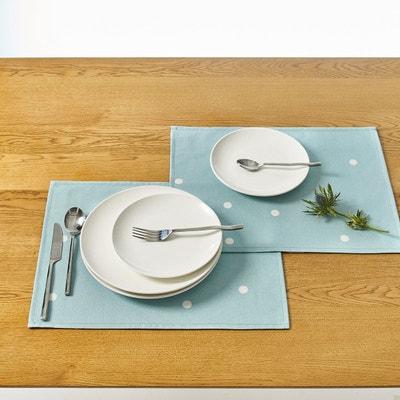 Sets de table imprimés enduits AURÉLIA, lot de 2 Sets de table imprimés enduits AURÉLIA, lot de 2 LA REDOUTE INTERIEURS