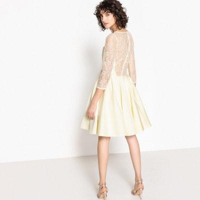Lace Insert Skater Dress Lace Insert Skater Dress MADEMOISELLE R