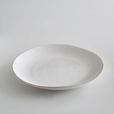 Lot de 4 assiettes plates faïence, Catalpa Lot de 4 assiettes plates faïence, Catalpa AM.PM