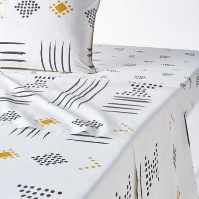 Assana Printed Flat Sheet La Redoute Interieurs