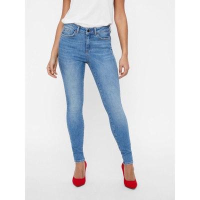 Jean slim femme Vero moda en solde   La Redoute 4306e96740b9