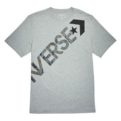 T-shirt com gola redonda, motivo à frente, cross body CONVERSE