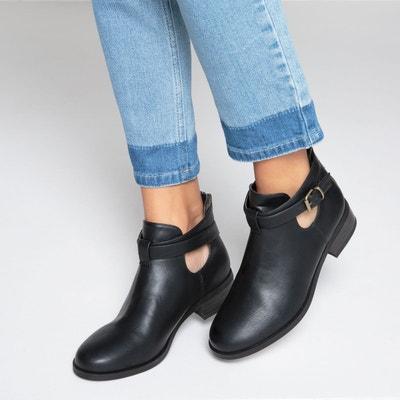 Boots ouvertes sur le côté Boots ouvertes sur le côté La Redoute Collections