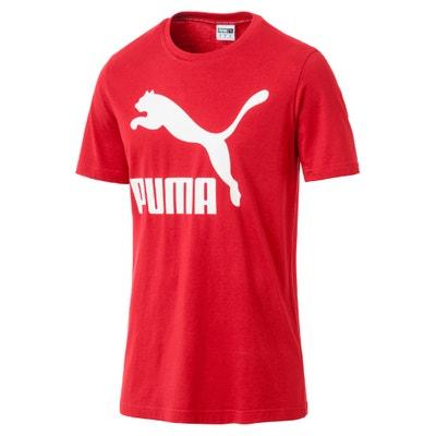 T-Shirt, runder Ausschnitt, kurze Ärmel, Aufdruck vorne PUMA