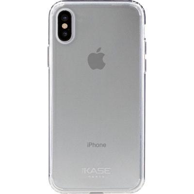 Coque en Silicone Hybride Invisible pour Apple iPhone X, Transparent THE  KASE 6cb9c2a9ea8
