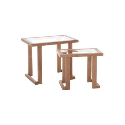 Table Gigogne Verre En Solde La Redoute